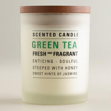 Green Tea Frosted Tumbler Candle