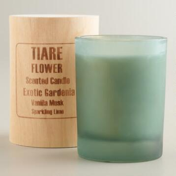 Tiare Flower Boxed Candle