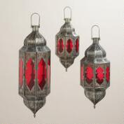 Red Abhati Hanging Lantern