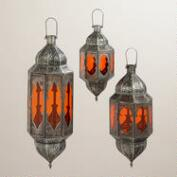 Orange Abhati Hanging Lantern