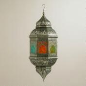 Embossed Glass Abhati Hanging Lantern