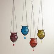 Mesh Abhati Hanging Lanterns, Set of 4