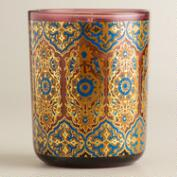 Red Mango Mandarin Glass Tumbler Candle