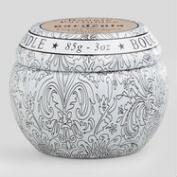 Gardenia Travel Candle Tin