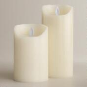 Mystique Flameless LED Pillar Candles