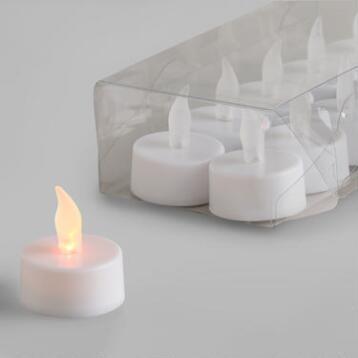 Flameless LED Tealight Candles, 10-Pack