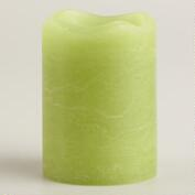 Olive LED Votive Candles, Set of 2