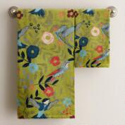 Woodland Birds Towels