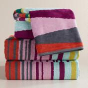 Isla Jacquard Bath Towel Collection
