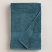 Ink Blue Cotton Towels