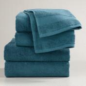 Ink Blue Bath Towel Collection