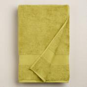 Green Oasis Cotton Bath Towel