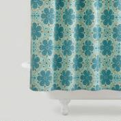 Nomad Tiles Shower Curtain