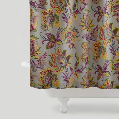 Sahara Bloom Shower Curtain