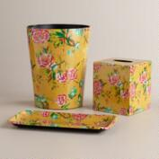 Yellow Floral Bath Collection