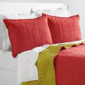 Coral and Oasis Green Simone Bedding Collection
