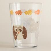 Owl Acrylic Tumblers, Set of 4