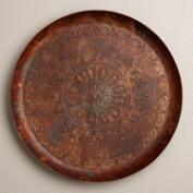 Round Copper Tray