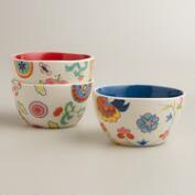Petite Fruit Bowls, Set of 3