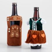 Lederhosen Beer Bottle Holder