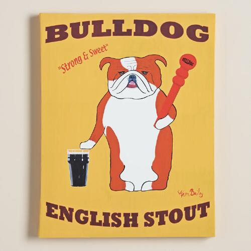"""Bulldog Stout"" by Ken Bailey"