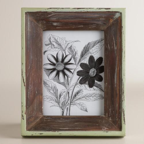 Mint and Natural Milo Frames