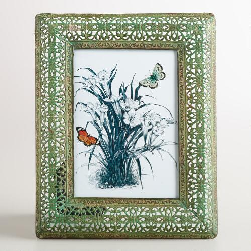 Medium Green Filigree Adalyn Frame
