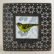 Small Black Filigree Adalyn Frame