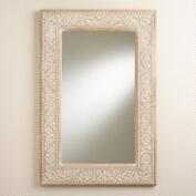 Carved Lydia Mirror