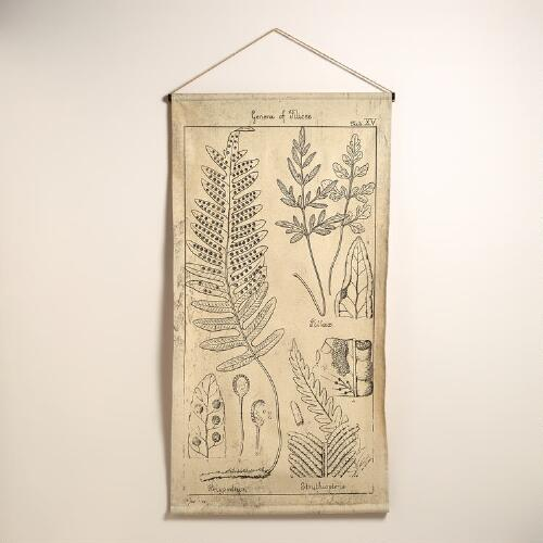 Scientific Fern Tapestry