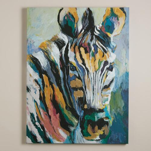 """Safari Zebra"" by Frank Parson"