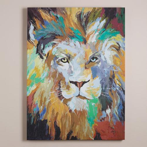 """Safari Lion"" by Frank Parson"