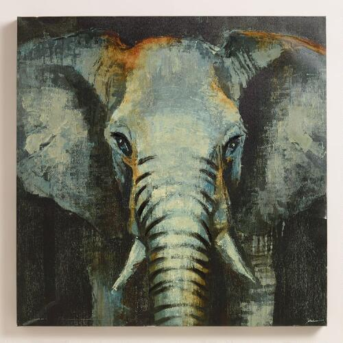 """Safari Elephant"" by Liz Jardine"