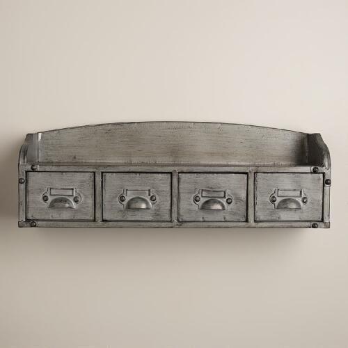 Metal Parker Wall Shelf