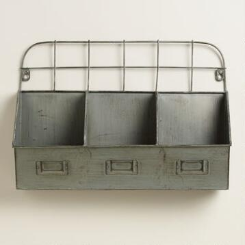 Metal Thomas Cubby Wall Storage