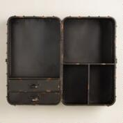 Black Thomas Cubby Wall Storage