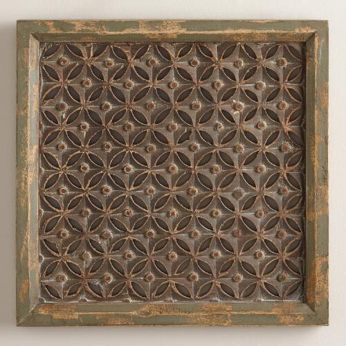 Square Moroccan Karima Wall Panel