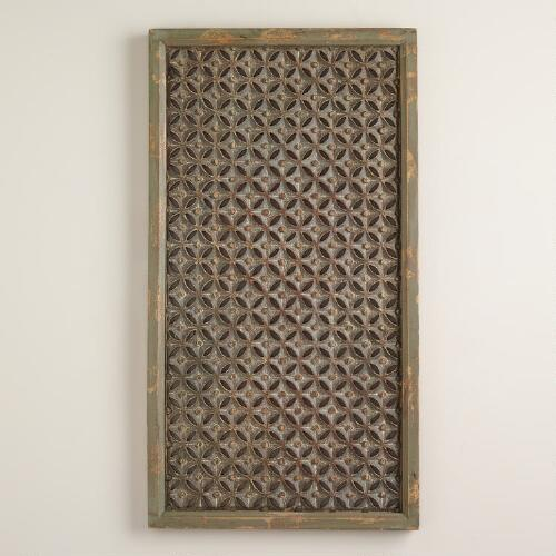 Rectangular Moroccan Karima Wall Panel