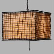 Lattice Outdoor Pendant Lamp