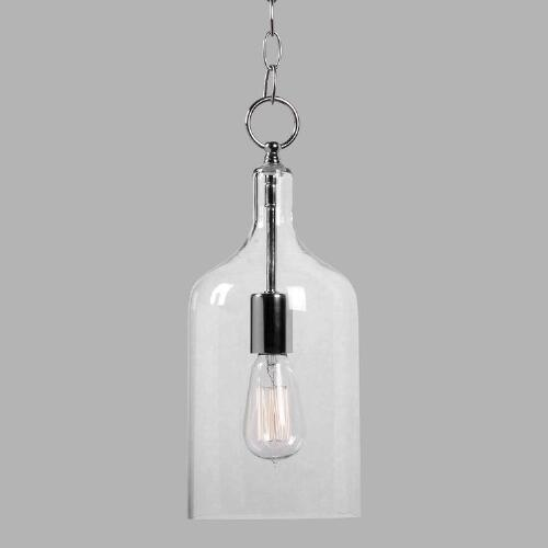 Mini Clear Glass Pendant Lamp