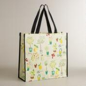 Kitchen Print Reusable Tote