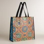 Medallion Print Reusable Tote