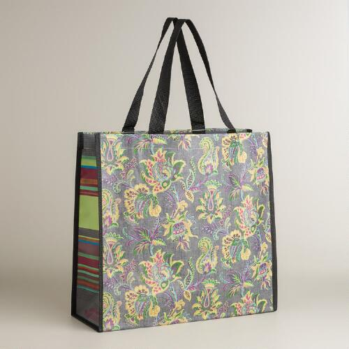 Sahara Bloom Print Reusable Tote
