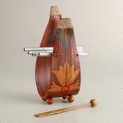 Wood Coconut Chime Instrument