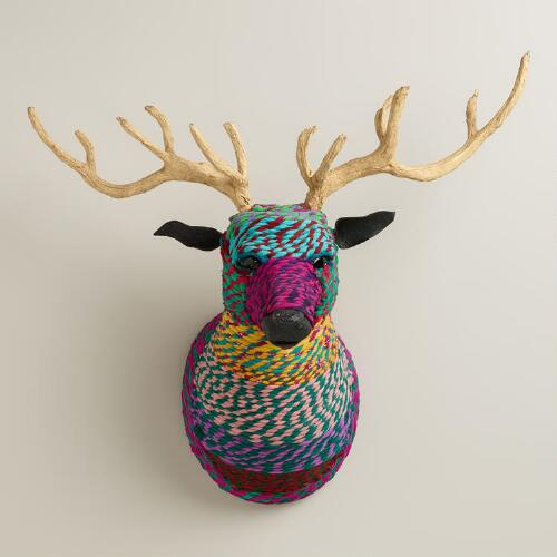 Chindi Bust with Antlers