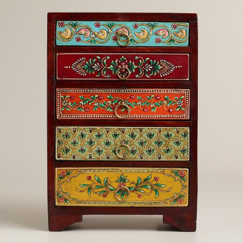 Painted 5-Drawer Chest