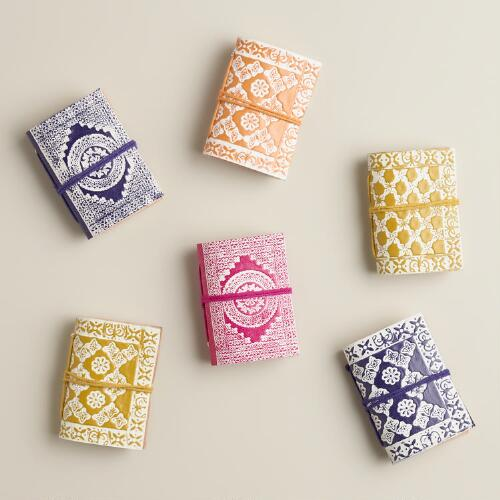 Mini Journals, Set of 6