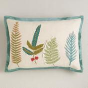 Botanist's Leaves Lumbar Pillow