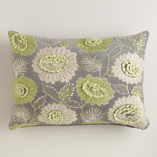 Fortress Bouquet Lumbar Pillow