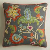 Sahara Bloom Floral Throw Pillow